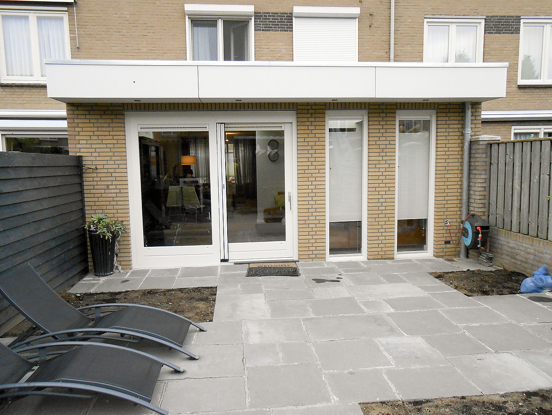 Tuinhuis met carport Boekel